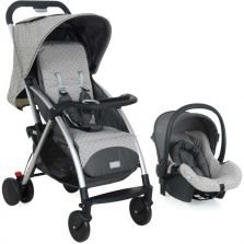 Travel System Burigotto Baby Cinza