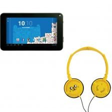 Tablet Android Adventure Time com Headphone Candide