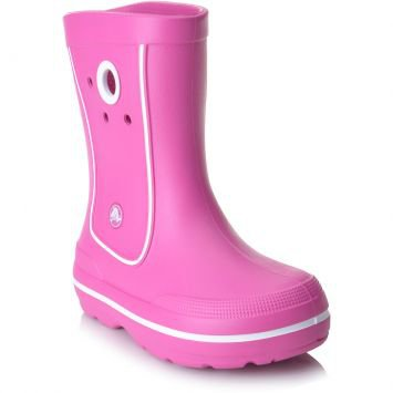 Bota Crocband Jaunt Kids Rosa Crocs