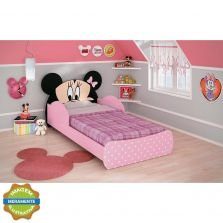 Mini Cama Minnie Rosa Disney