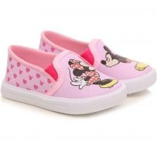 Tênis Disney Rosa Estampado Minnie