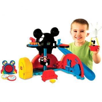 Encantados   A Mickey Mouse Clubhouse Casa Do Mickey Fisher Price