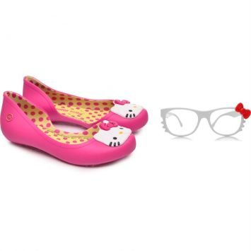 Sapatilha Hello Kitty Hit Pink Grendene Kids