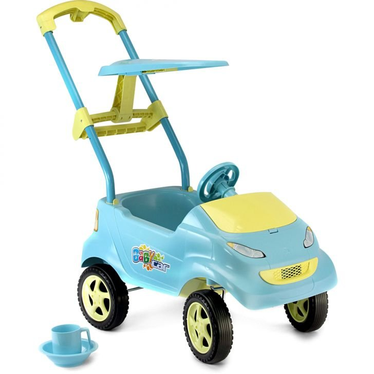 Baby Car Azul Home Play