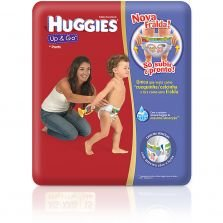 Fralda Up & Go Huggies