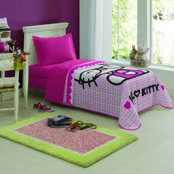Colcha Matelassê Hello Kitty Lepper