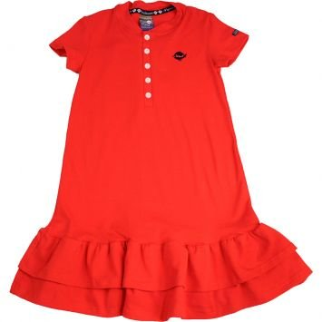 Vestido Cotton Light Vermelho Malwee