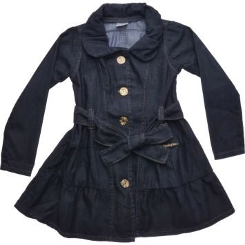 Vestido Coat mania com Lao Jeans Mania Kids