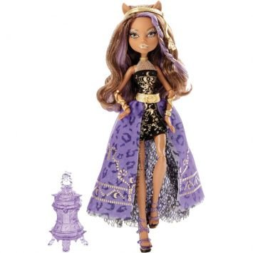 Boneca Monster High Clawdeen Wolf 13 Wishes Festa Mattel