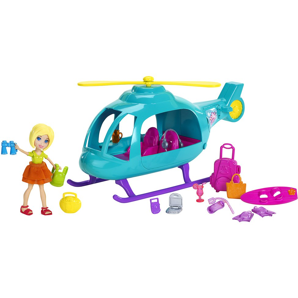 Polly Pocket Helicóptero Mattel