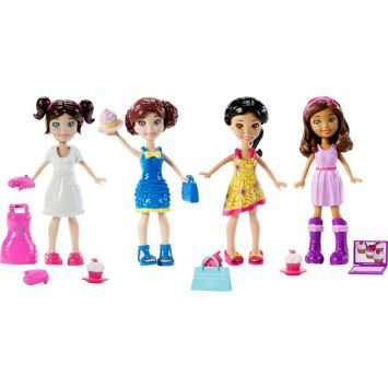 Polly Pocket Turma da Polly Festa Cupcake Mattel