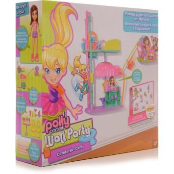 Polly Pocket Wall Party Mundo Divertido Café Mattel