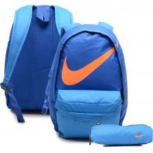 Mochila De Costas Infantil Nike Young Athletes Halfday Bt Azul