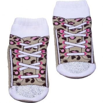 Meia Pansocks Baby Strass Oncinha Puket