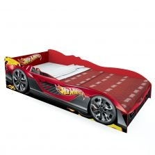 Cama Hot Wheels Plus Vermelha Pura Magia