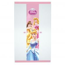 Guarda-Roupa Princesas Disney Happy 3 Portas Pura Magia