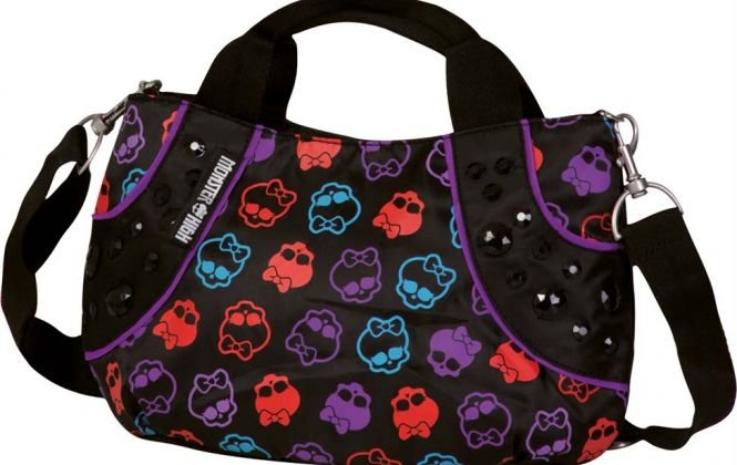 Bolsa Tiracolo Monster High 13T Estampada Sestini