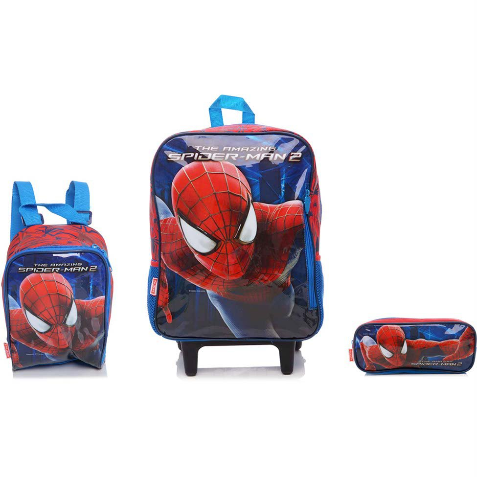 Pin Mochila Spiderman Azul on Pinterest