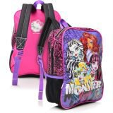 Tricae - Mochila P Monster High 14M Roxo Sestini