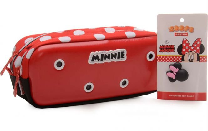 Necessarie 2 Compartimentos Minnie 13 Zoops Sestini