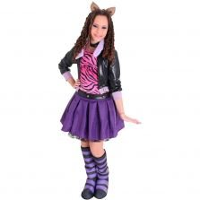 Fantasia Monster High Clawdeen Wolf  Luxo Sulamericana