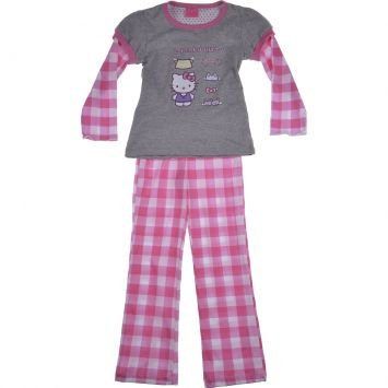 Pijama Hello Kitty Rosa Tip Top
