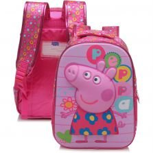Mochila Xeryus 16 Colorful Rosa Peppa Pig